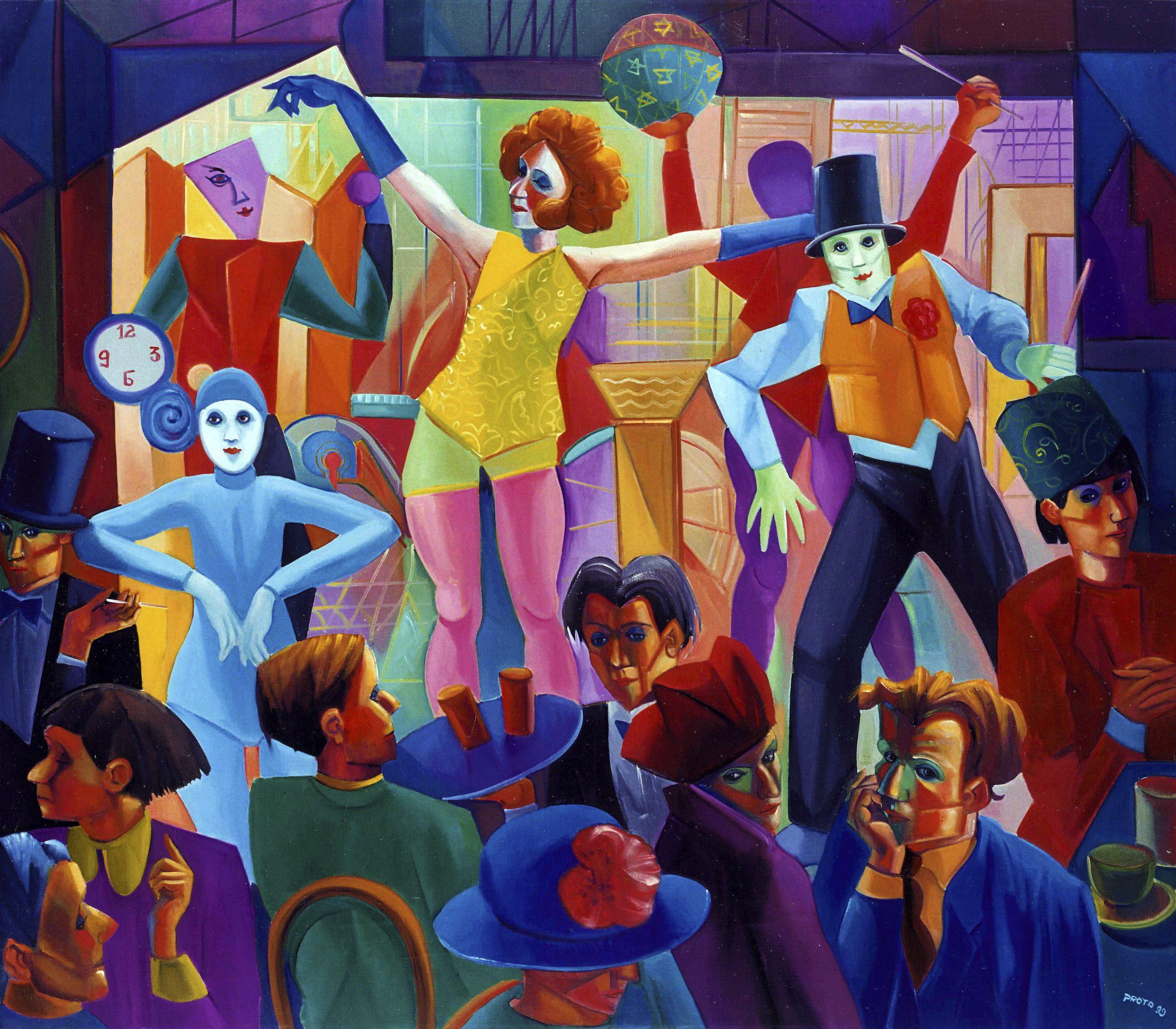 1999 - Cabaret - 140x160 cm