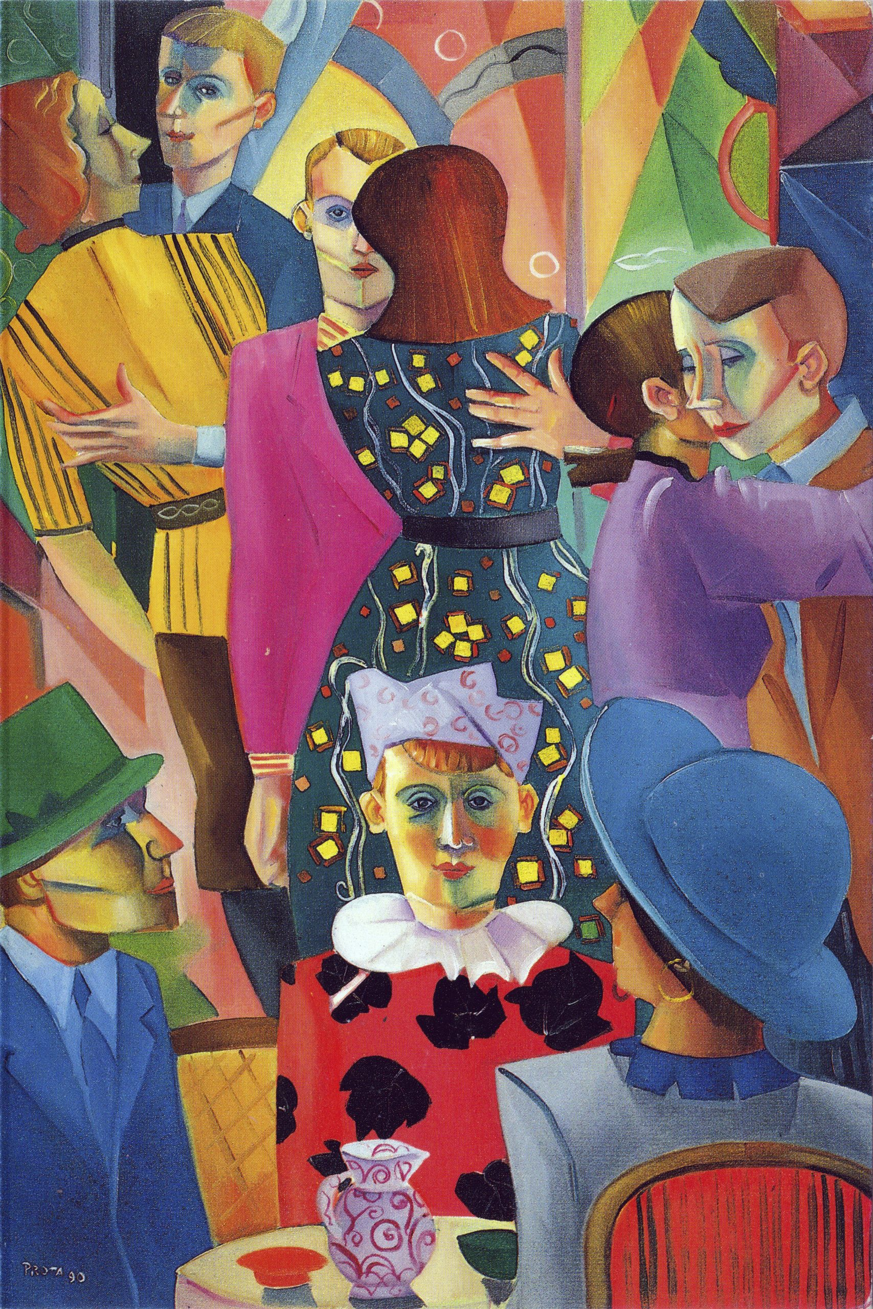 1990 - Carnevale - 75x50 cm