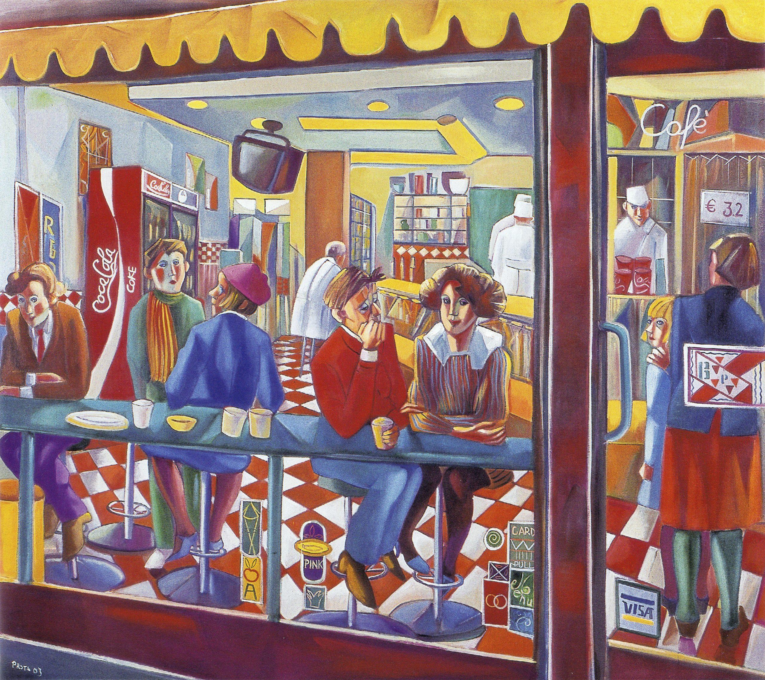 2003 - Fast Food - 160x180 cm