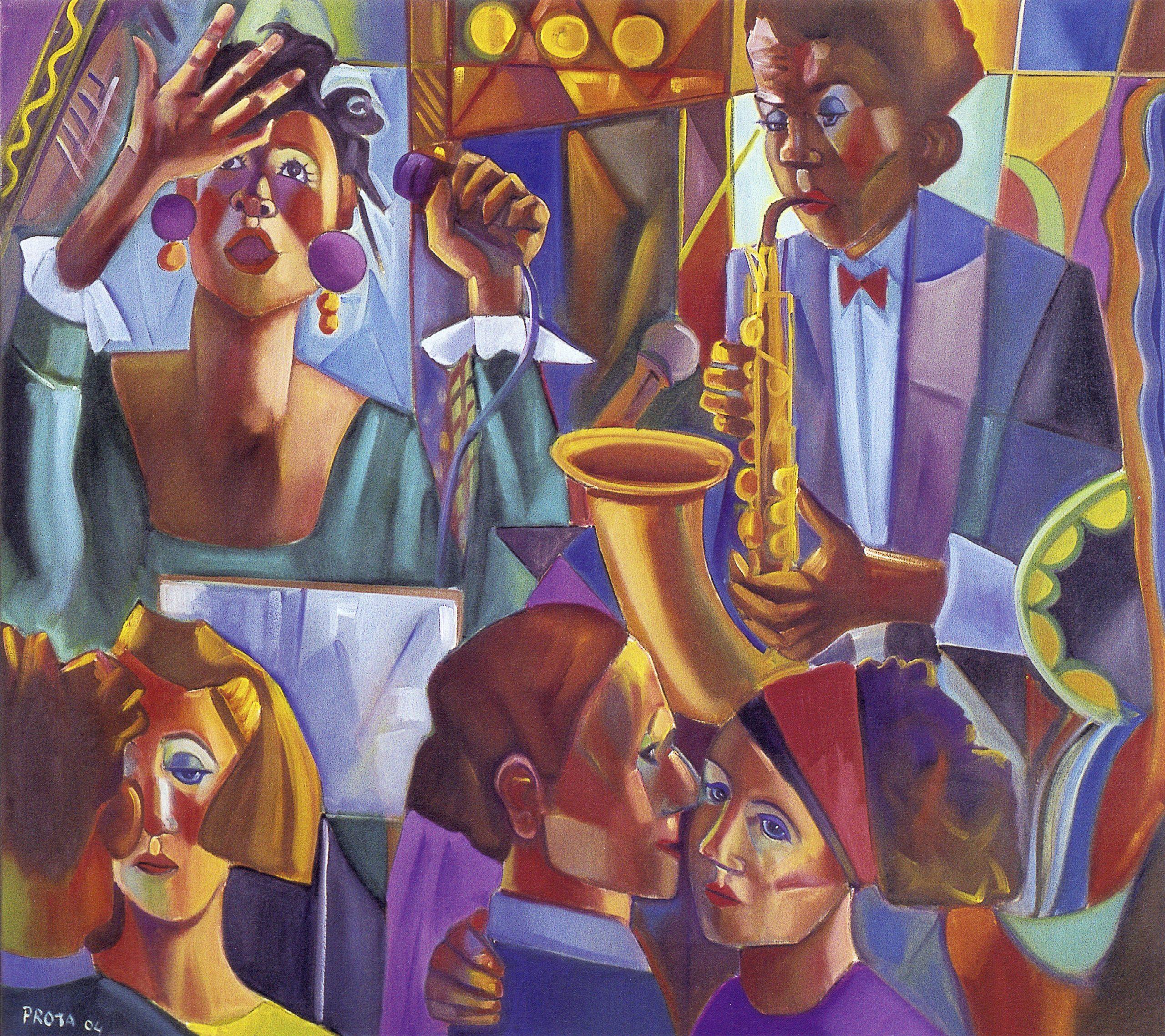 2004 - Jazz - 80x90 cm