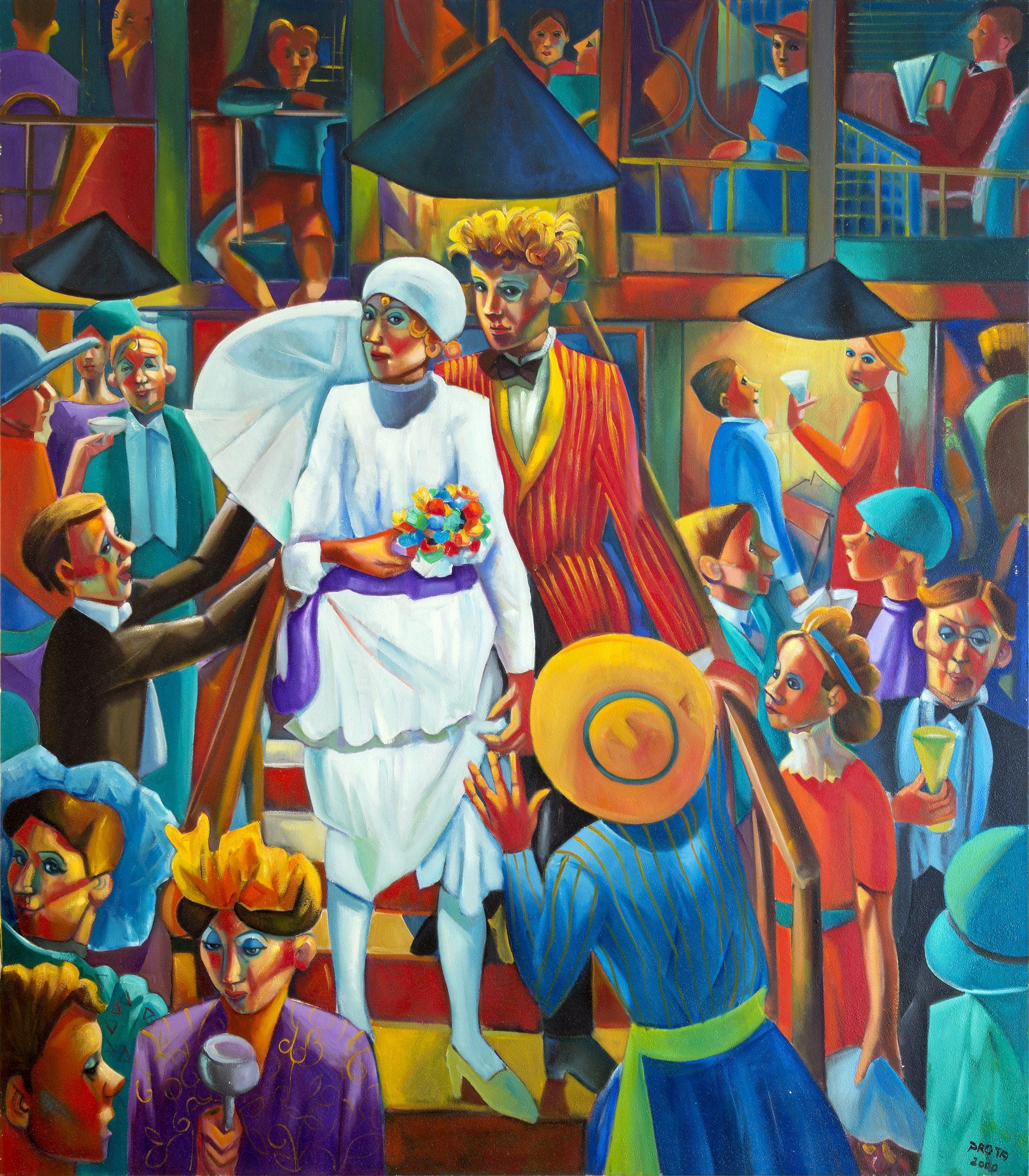 2000 - Matrimonio Irlandese - 160x140 cm