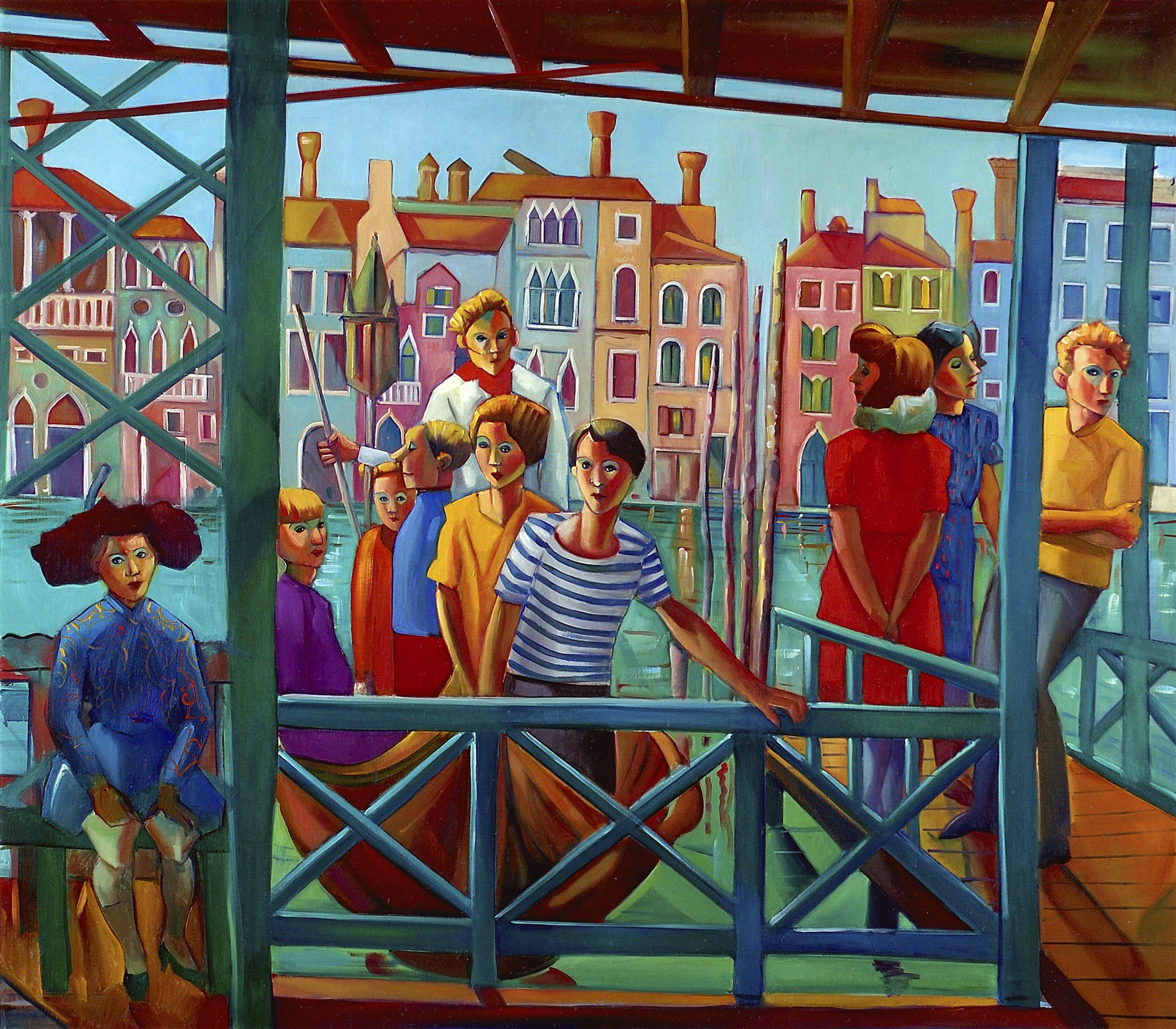 1991 - Traghetto - 140x160 cm