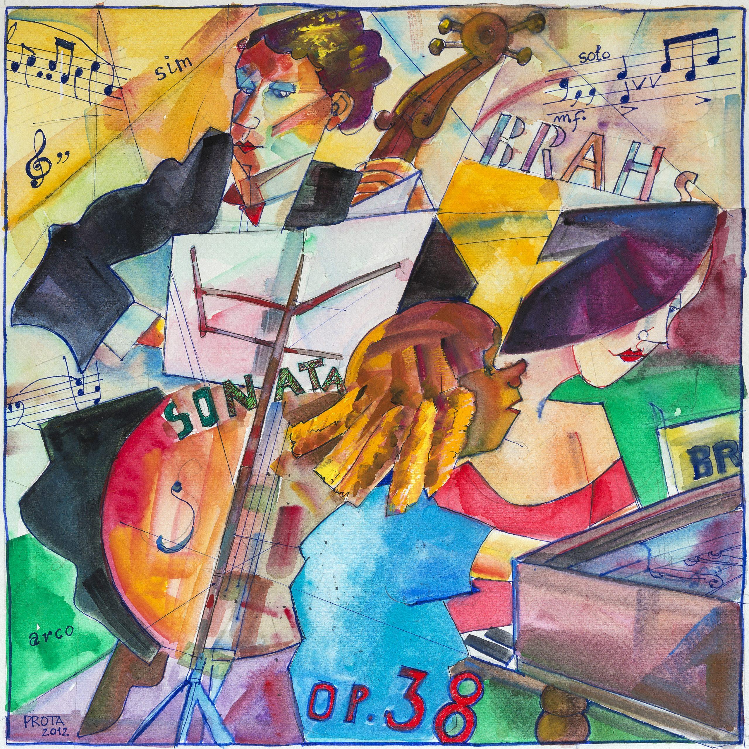 2012 - Trio - 36x36 cm